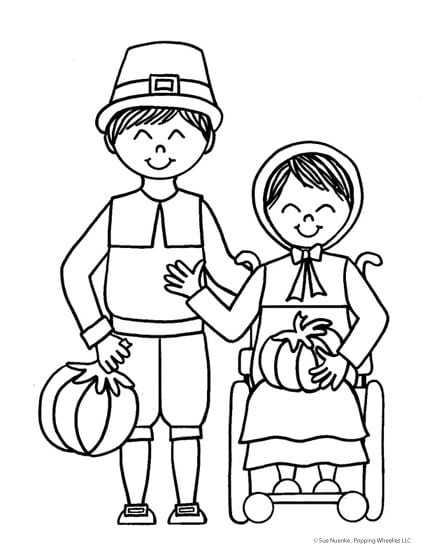 special needs coloring pages - photo#6
