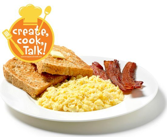 Cooking With Kids: Easy Scrambled Eggs
