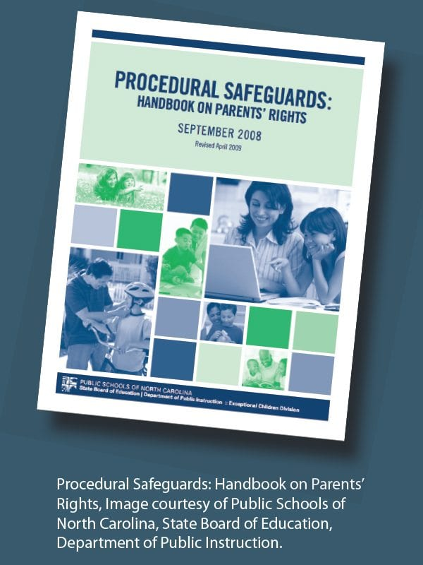 Parents Rights In Special Education Notice Of Procedural Safeguards >> Know Your Rights In The Iep Process What Do Those Procedural